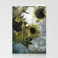 Autumnal Sunflowers Stationery Cards
