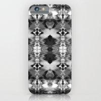 B&W Watercolor Ikat iPhone 6 Slim Case