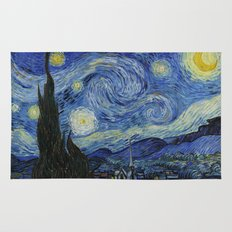 Starry Night by Vincent van Gogh Rug