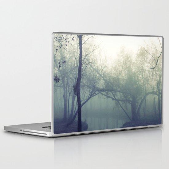 misty morning ... Laptop & iPad Skin