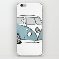 VW Camper iPhone & iPod Skin