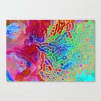 Abstract Watercolor Canvas Print