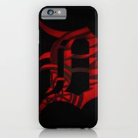 iPhone & iPod Case featuring Detroit, April In the D, Redwings, Tigers by CLFFW