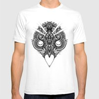 Meditation III Mens Fitted Tee White SMALL