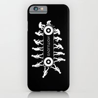 iPhone Cases featuring Evolution by Tony Vazquez