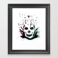 Visions Of A Terrible Ti… Framed Art Print