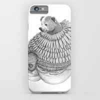 The Bear and the Bees- Feathered iPhone 6 Slim Case