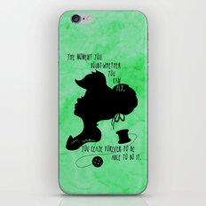 The Moment You Doubt You Can Fly iPhone & iPod Skin