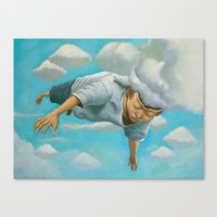 Mind Flight Canvas Print
