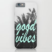 good vibes palm tree iPhone 6 Slim Case