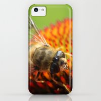 iPhone Cases featuring Hover Fly at Lunch by kealaphotography