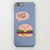 iPhone & iPod Case featuring Bite me! by Peach Momoko