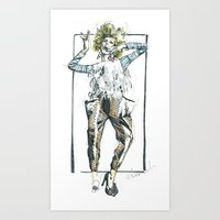 Baggy Trousers Art Print