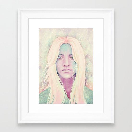 Asteria Framed Art Print