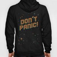 Don't Panic! Pixel Art Hoody