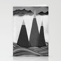Clouds. Mountains. Water… Stationery Cards