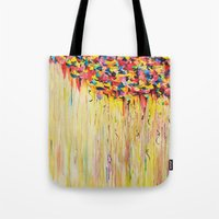 OPPOSITES LOVE Raining S… Tote Bag