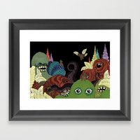 Whimsy Framed Art Print