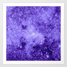 Lavender Galaxy Art Print