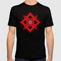 Lianai Redstone Mens Fitted Tee Black SMALL
