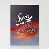 l o v e Stationery Cards