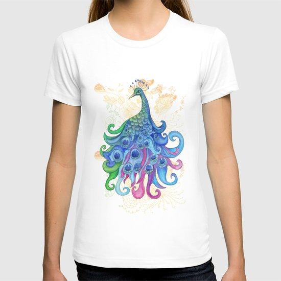 Peaceful Peacock  T-shirt