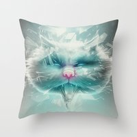 Baron Philip Von Glass Throw Pillow