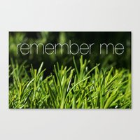 Rosemary for remembrance Canvas Print