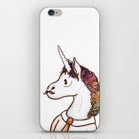 Doctor Unicorn iPhone & iPod Skin