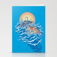 Stationery Card featuring The Lost Adventures of Captain Nemo by Don Lim