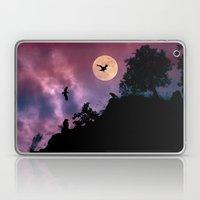Crow meeting Laptop & iPad Skin