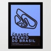 Legendary Races - 1973 Grande Prêmio do Brasil Art Print