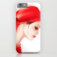 lady in  red Slim Case iPhone 6s
