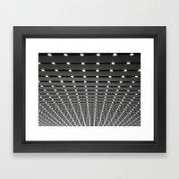 Follow all of the Lights Framed Art Print