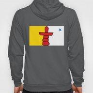 Nunavut  Province Flag -… Hoody