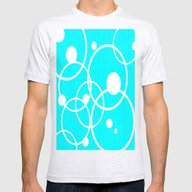 T-shirt featuring Circles On Blue by Crayle Vanest
