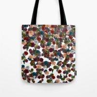 mini floral Tote Bag