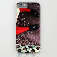 iPhone & iPod Case featuring red socks by rachel kelso