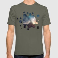 fantasy mountain Mens Fitted Tee Lieutenant SMALL