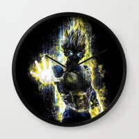The Prince Of All Fighte… Wall Clock