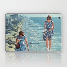Walk on the Beach Laptop & iPad Skin