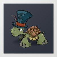 Turtle Chief Canvas Print