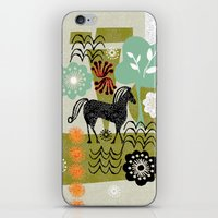 magical horse garden iPhone & iPod Skin