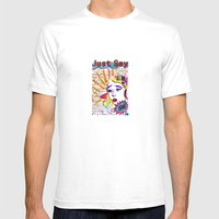 Just Say No! Mens Fitted Tee White SMALL