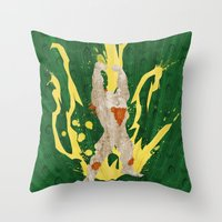 Call Me, Jimmy (Homage to Blanka from Street Fighter) Throw Pillow