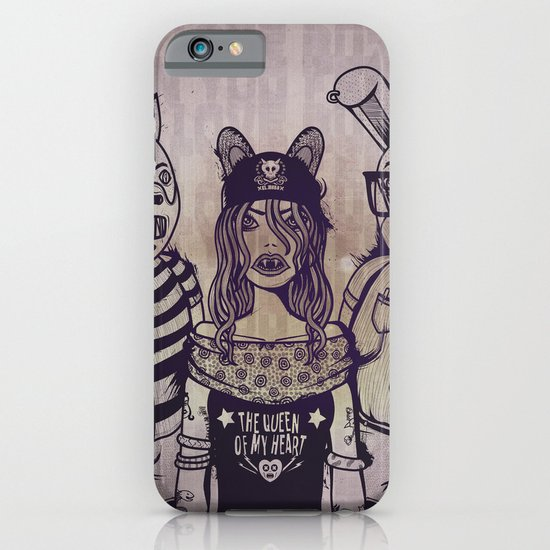 the queen of my heart iPhone & iPod Case