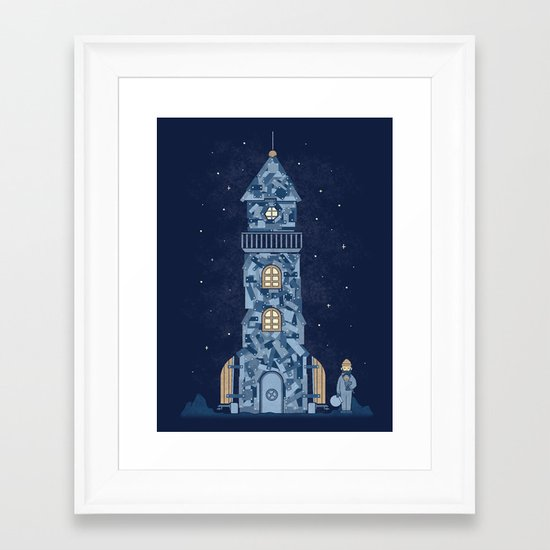 There Must Be More Than The Sea Framed Art Print