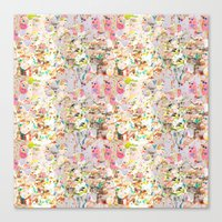 Abstract Springtime Wate… Canvas Print