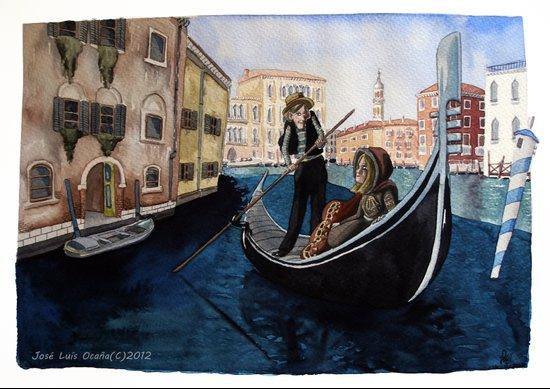 Melancholy city. Art Print