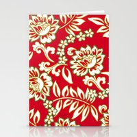 Tropical Eggnog Punch Stationery Cards